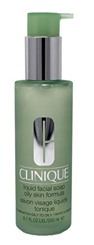 Clinique Liquid Facial Soap Oily Skin Formula 6.7 ounce (Best Soap Or Face Wash For Oily Skin)