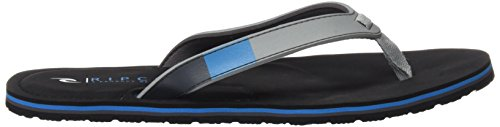 Rip Curl Tcte15, Chanclas para Hombre Negro (Light Grey)