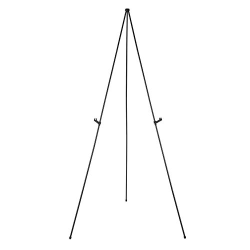 AmazonBasics Instant Adjustable Collapsible Artist Easel, Tripod, Supports 5 Pounds