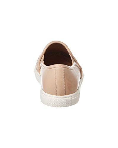 Wollen Slip-on Sneaker Beige Voor Dames