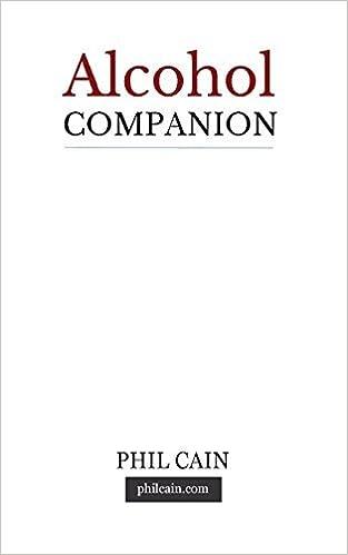 Book Alcohol Companion: common sense supplement by Phil Cain (2016-05-12)