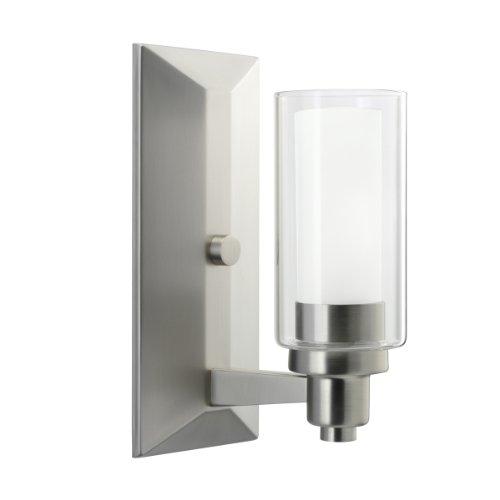 Kichler 6144NI Circolo Wall Sconce 1-Light, Brushed Nickel Circolo Sconce Light
