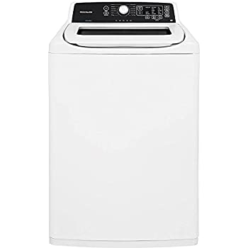 """Top Load Washer, White, 44-1/4"""" H"""