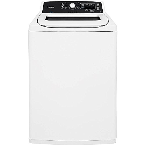 Top Load Washer, White, 44-1/4″ H