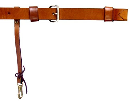 Walnut Circle Y Western Leather Plain Horse Flank Cinch Girth