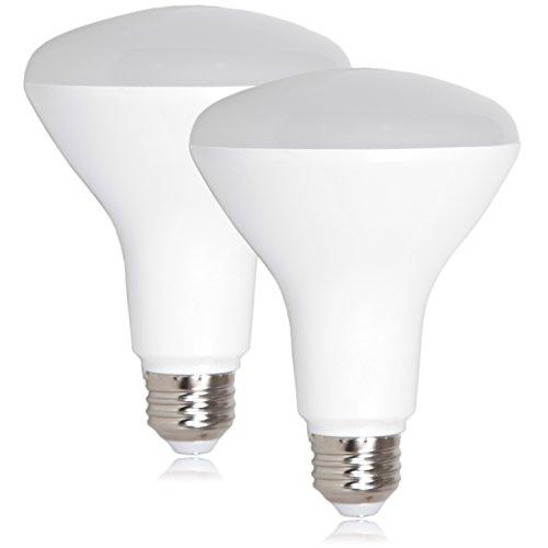 Maxxima LED BR30 75 Watt Equivalent Dimmable 11 Watt Neutral White 950 Lumens Energy Star, 4000K (Pack of 2)