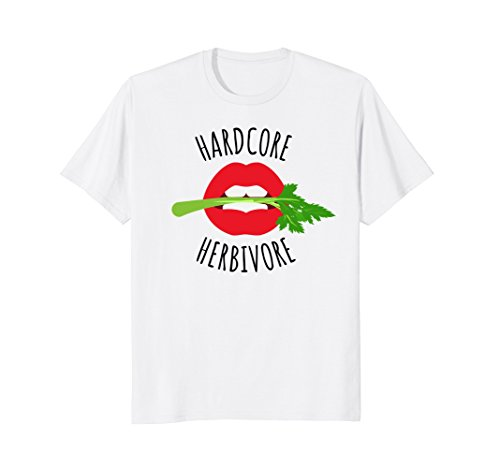 00f92849fd Hardcore Herbivore T-Shirt Funny Vegetarian Funny Vegan Tee. by healthy  living vegetarian gift vegan t shirts