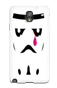 DanRobertse Scratch-free Phone Case For Galaxy Note 3- Retail Packaging - Star Wars Stormtroopers Crying