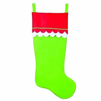 Amazoncom Huge 55 Felt Jumbo Christmas Stocking Choose From