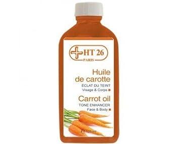 huile de carotte eclaircissante