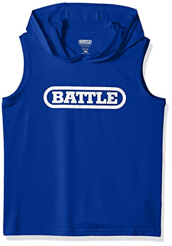 Battle Youth Sleeveless Light Action Hoodie - Blue