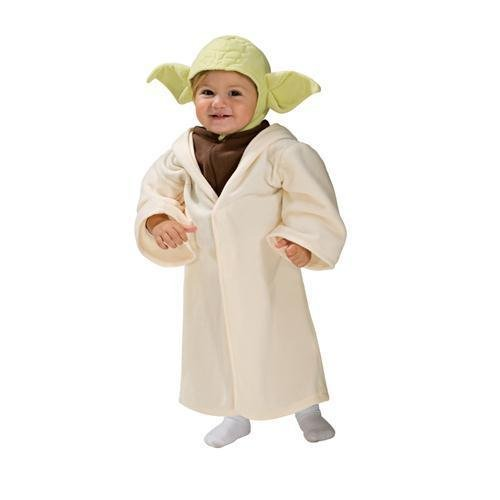 Baby Star Wars Yoda Costume Size Newborn to 6 Months -