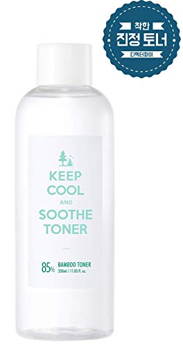 KEEP COOL Soothe Bamboo Toner 350ml / 11.83 fl. oz. | Instant Soothing & Ultra Hydrating Toner | Hypoallergenic, Dermatologist Tested (Cool Bamboo)