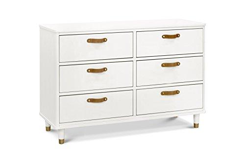 Million Dollar Baby Classic Tanner 6-Drawer Dresser, Warm White