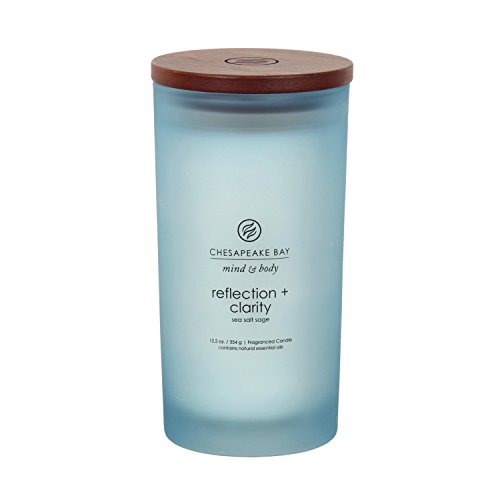 Chesapeake Bay Candle Mind & Body Collection Large Jar Scented Candle, Reflection + Clarity