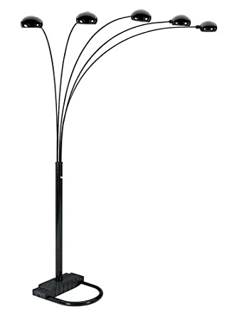 arch floor lamp canada arc ikea uk silver ore international arm black