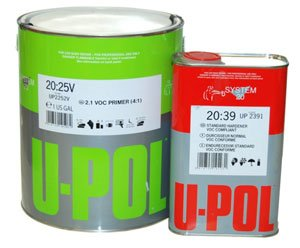 U-POL 2.1 URETHANE High Build DTM PRIMER-Auto-Car Paint