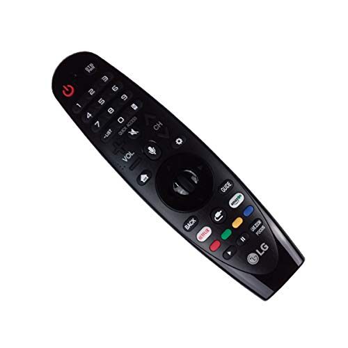OEM LG AN-MR18BA Magic Remote Control with Netflix and Amazon Buttons Voice Mate for All 2018 4K UHD Smart LG Televisions OLED65W8PUA OLED77W8PUA OLED43W8PUA OLED49W8PUA OLED50W8PUA OLED55W8PUA by LG (Image #1)