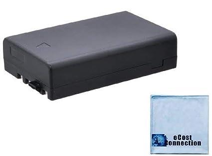 LI109 1600 mAh Li-ion Batería recargable + gamuza de microfibra ...