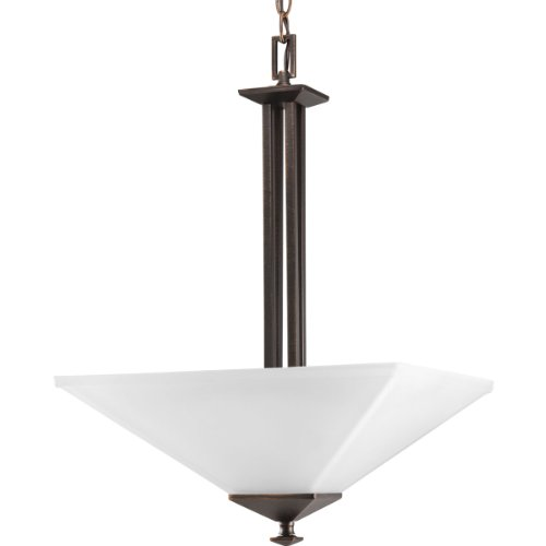 Progress Lighting P3906-74 2-Light North Park Inverted Pendant, Venetian Bronze