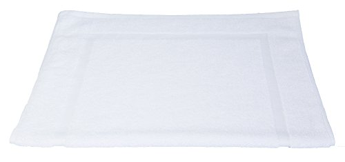 durable modeling Chinaberry Tree Linens Bath mat, 20'' x 30'', Premium Hotel Supply, Durable, Machine Washable and Ultra Absorbent
