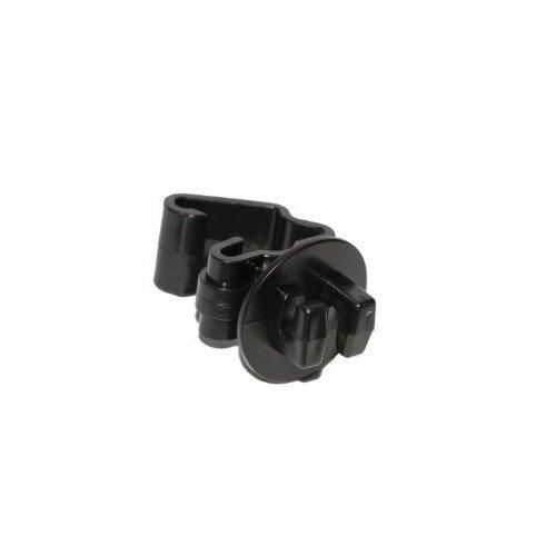 (Zareba ITB-Z Standard Snug-fitting T-Post Insulator, Black, 25 per Bag)