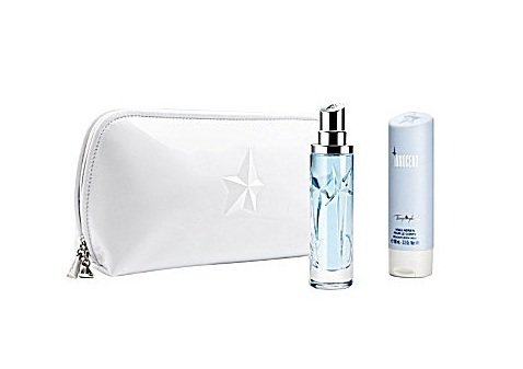 Innocent By Thierry Mugler for Women Gift Set -- 1.7 Oz Eau De Parfum Spray & 3.3 Oz Delicate Body Milk & Hand Bag