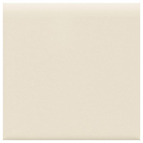 Matte Almond 4-1/4 in. x 4-1/4 in. Ceramic Bullnose Wall ()