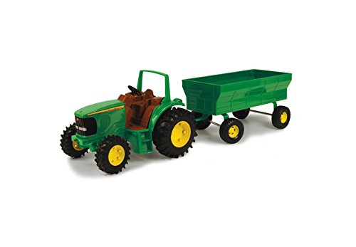 r with Flarebox Wagon Set by ERTL |Steerable Front Axle, Rear Hitch and Die Cast Hood |Perfect for Both Kids and Collectors | Styles May Vary ()