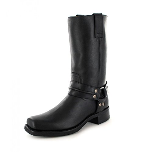 Sendra Boots2380 - Stivali da Motociclista Unisex – adulto Nero (Loren Negro)