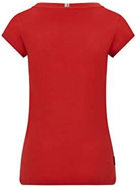 Scuderia Ferrari Offizielle Formel 1 Merchandise 2020 Baumwolle Logo T-Shirt Damen Rot