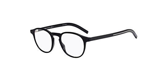 New Christian Dior Homme Blacktie 250 807 Black Eyeglasses