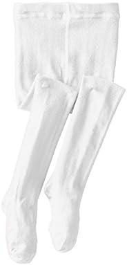 Jefferies Socks Girls' Seamless Organic Cotton Ti
