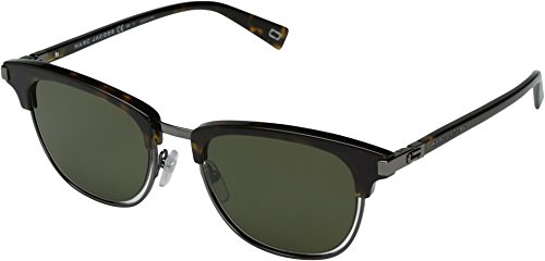 Marc Jacobs  Men's Marc 171/S Dark Havana With Green Lens - Jacobs Sunglasses Green Marc