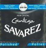 Savarez New Cristal Cantiga Blue High Silver Polished Basses