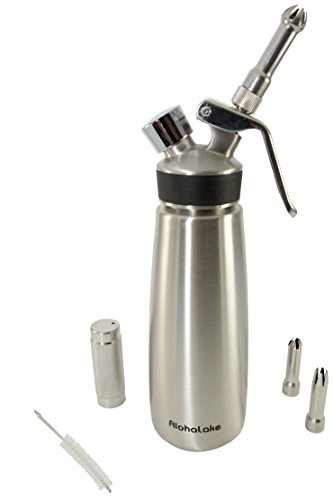 Stainless Whipper dispenser dishwasher separately product image