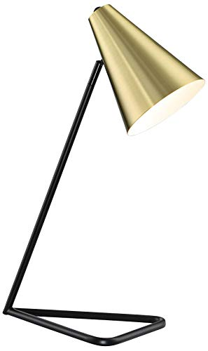 (Lite Source Cooper Gold Metal Desk Lamp)