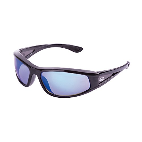 Black Rhino 10007    Safety Glasses (Stainless - Blue - Scratches Get Out Of Glass You Can