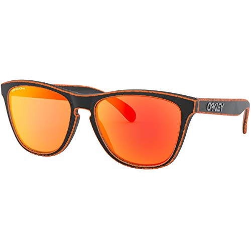 Oakley Men's Frogskins Sunglasses,OS,Raceworn Orange/Prizm ()
