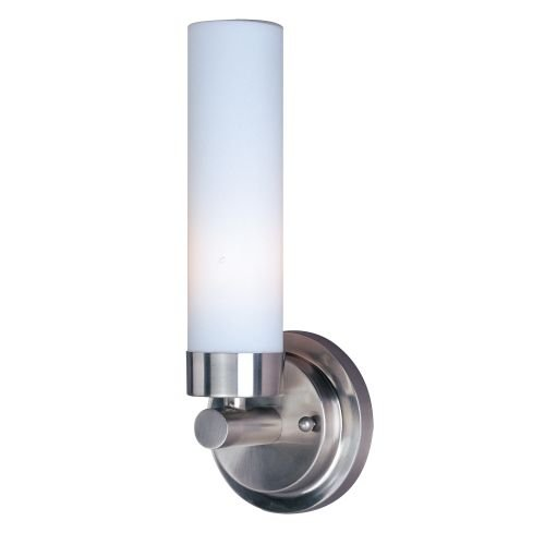 ET2 E53006 Single Light Up Lighting Wall Sconce from the Cilandro Collection, Satin (Cilandro Satin)
