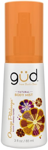 Gud Orange Petalooza Natural Body Mist, 3 Fluid Ounce
