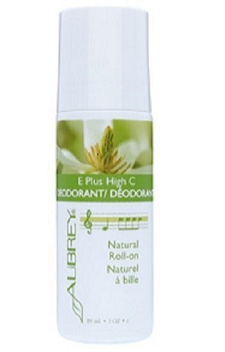 Aubrey Organics E Plus High C Roll-On Deodorant-3 oz