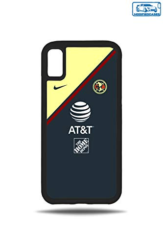 ModifiedCases 2019 Club America Away Jersey Bumper Case Compatible with Apple iPhone X