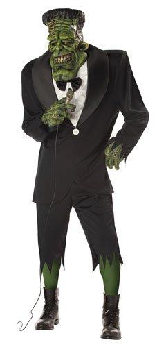 Big Frank Adult Mens Frankenstein Halloween Costume