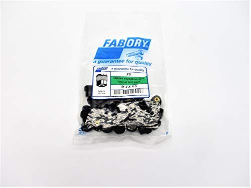 FABORY M3X6.5 56972 (PKG of 25) NSMP from INDUSTRIAL MRO