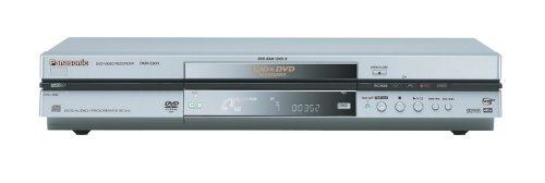 Panasonic DMR-E80H Progressive-Scan DVD Player/Recorder with Hard Drive , Silver