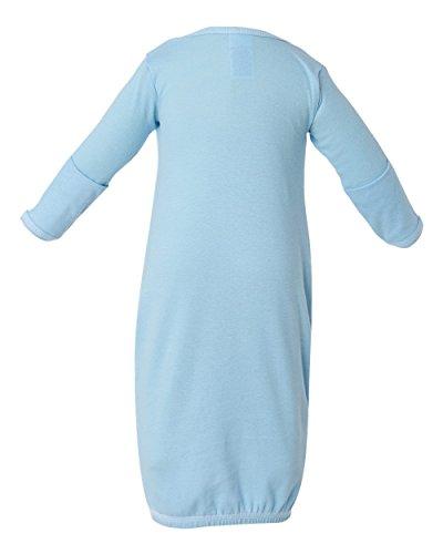 DRI DUCK Short Sleeve Fishing Shirt, Light Blue, Newborn (Toddler Rib)