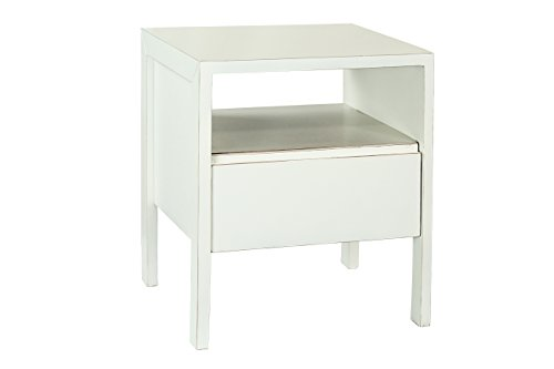 Legs Finish Revival Table (Antique Revival Zen End Table, White)
