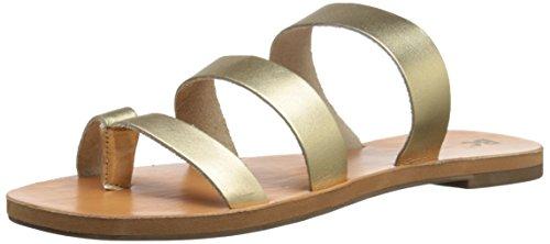Calzado Bc Slide Mujer Dorado Sandal Peanut A88wdCq