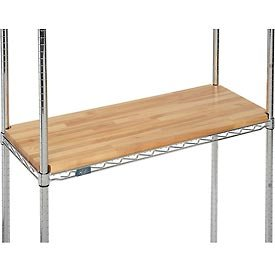 "Hardwood Deck Overlay, 48"" x 14"" x 1"""